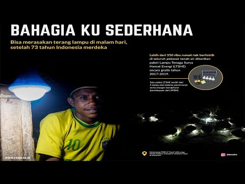 LTSHE Hadir Terangi Distrik Puldama, Papua