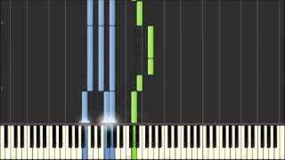 Nursery Rhyme Piano - Mary Had a Little Lamb [Synthesia]