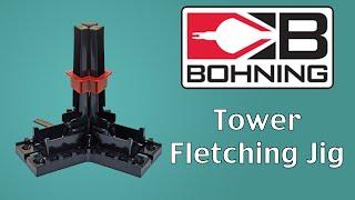 Bohning Tower Fletching Jig