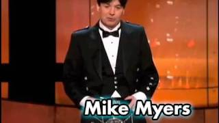 Mike Myers Salutes Sean Connery In A Kilt at the AFI Life Achievement Award