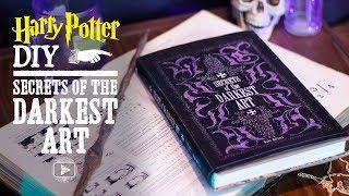 Secrets Of The Darkest Art Book Cover - Harry Potter DIY
