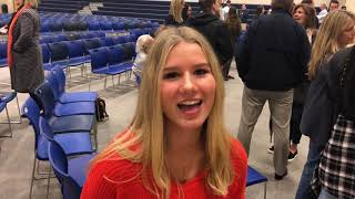 Mount Vernon Athletic Signing | Zoe Stupek | 12-20-18