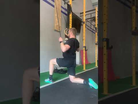 banded lat pull down with iso hold