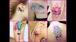 100 Best Watercolor Tattoo Ideas For Women - New Ideas