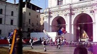 Italy. Flag Waving/ Tossing