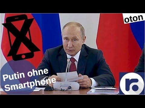 Putins fehlendes Smartphone auf deutsch [Video]