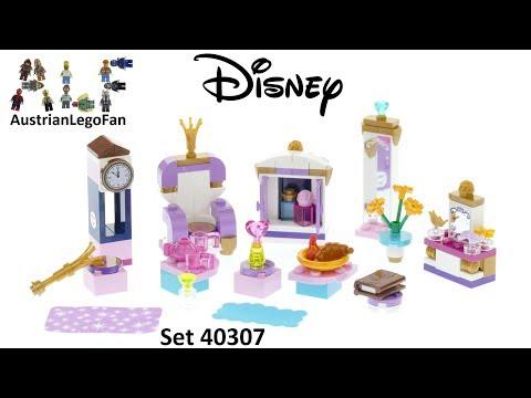 Vidéo LEGO Disney 40307 : Kit de l'intérieur du château
