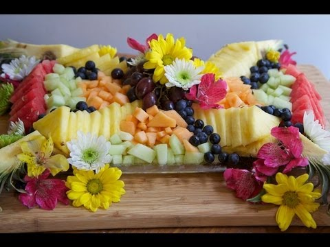 ☀ How to Make A Beautiful Fruit Tray ~Brunch Fruit Platter!