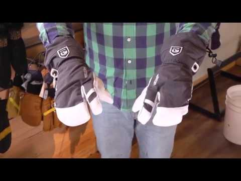 Hestra Heli 3 Finger Glove Review with Powder7