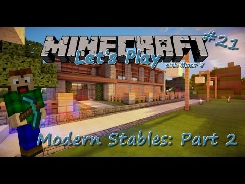 . Modern Horse Stable Minecraft Project