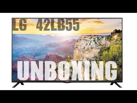 UNBOXING - LG 42LB5500 LED-Backlight-Fernseher 42 Zoll - Deutsch/German