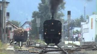 preview picture of video 'Treno speciale Villach-Hermagor 2 giugno 2012'