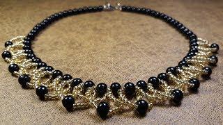 Hermoso Y Delicado Collar...Clase #80!!!