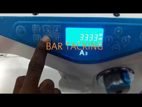 Jack A3 Computerized Lockstitch Sewing Machine