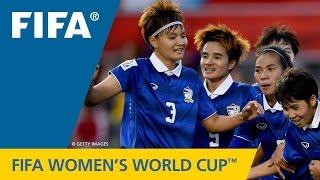 ไฮไลท์  ไอวอรี่โคสต์ (หญิง) พบ ไทย (หญิง)  รายการ  FIFA Women's World Cup 2015