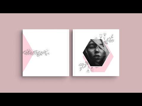 Inspiração para a capa do seu Álbum Digital - 'Design alternativo'