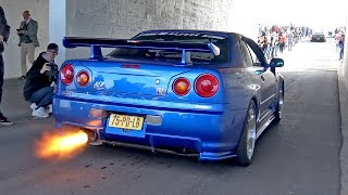 Nissan Skyline R34 Nismo R Tune Concept - REVS & FLAMES!