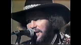 Canteen of Water - David Allan Coe - RARE 1975 Video Performance