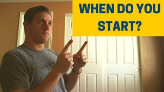 When to Start the Recruiting Process (WHAT YEAR!)