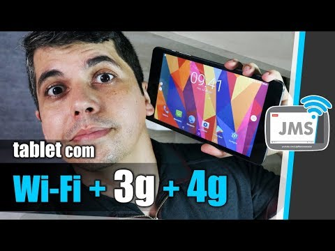 Um Tablet que pega Chips e Internet 3G 4G