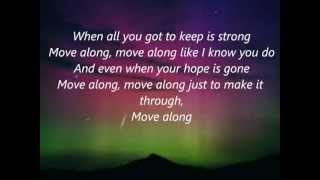 Move Along-All American Rejects (lyrics)