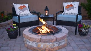My DIY Fire Pit. $55 Total Cost