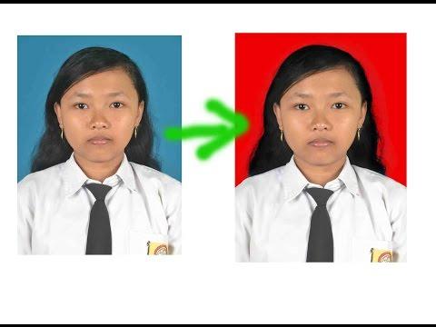 Video Cara Mengganti Background Pas Foto Tanpa Menghilangkan Detail Rambut