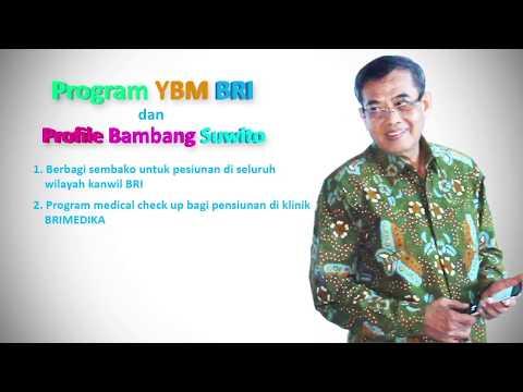 Program YBM BRI oleh Bpk. Bambang Suwito