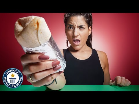 World Record Burrito Speed Eating