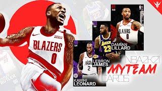 Making MyTEAM Cards for NBA 2K21