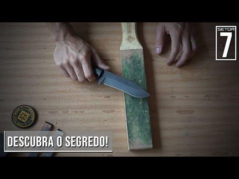 Como afiar sua faca para cortar como navalha? - Setor 7 Ep.94