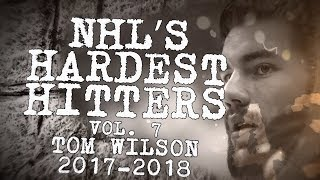 Biggest Tom Wilson Hits of 2018 | NHL's Hardest Hitters