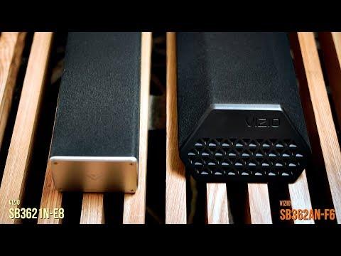 Sound Bar Review: Vizio SB362An-F6 vs SB3621n-E8  | An Audiophile's Perspective