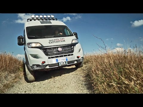 Fiat Ducato 4x4 Expedition - Off-Road Camper Van