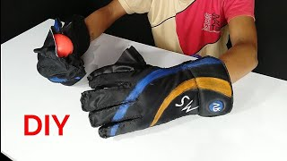 How To Make Cricket 🏏 Wicket Keeping Gloves At Home | Wicket Keeping Gloves| RV World