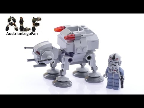 Vidéo LEGO Star Wars 75075 : AT-AT
