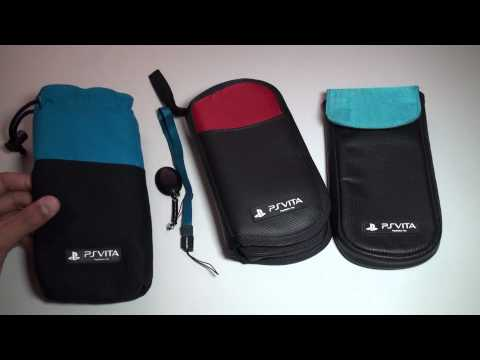 PS VITA 4GAMERS CASES / POUCHES – Clean n Protect Kit / Pouch – Travel Case – Review