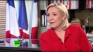 Эксклюзивное интервью: Марин Ле Пен о российском Крыме и опасной Хиллари Клинтон