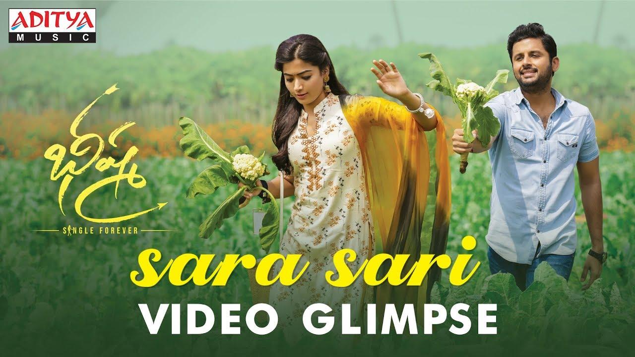 Sara Sari Video Glimpse from Bheeshma