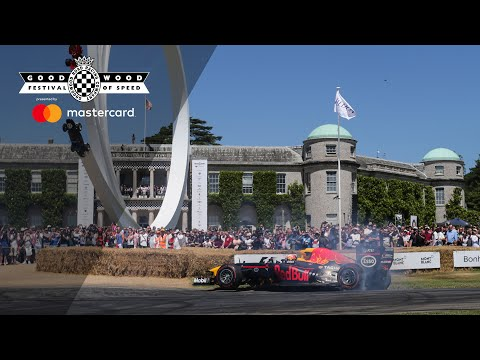 Gasly's V8 F1 Red Bull screams at FOS