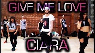 """Give Me Love"" Ciara feat. Jade, Larsen, Charlize & Jordyn @brianfriedman Choreography"
