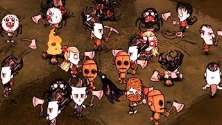 Don't Starve Together, but there's way too many players on the server