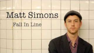 Matt Simons - Fall In Line (Audio Only)
