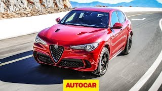 2018 Alfa Romeo Stelvio Quadrifoglio - New 503bhp Hot SUV review | Autocar