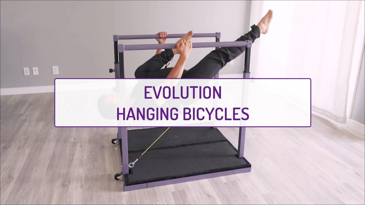 Evolution Hanging Bicycles