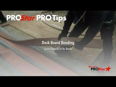 Deck Board Bending