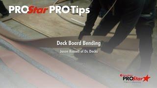 FastenMaster PROStar PROTips Deck Board Bending Jason Russell