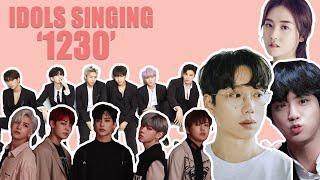 Kpop Idols Singing And Dancing To Beast '12:30'