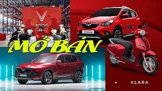VinFast mở bán đồng loạt ra mắt 3 dòng sản phẩm Ô Tô - Xe máy điện