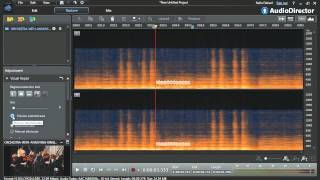 AudioDirector 5 - Achieve perfect audio with the visual repair tool